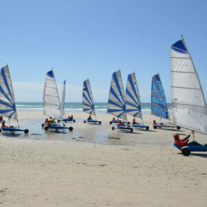 Flexi Sailing Sand Yacht Belgium 3