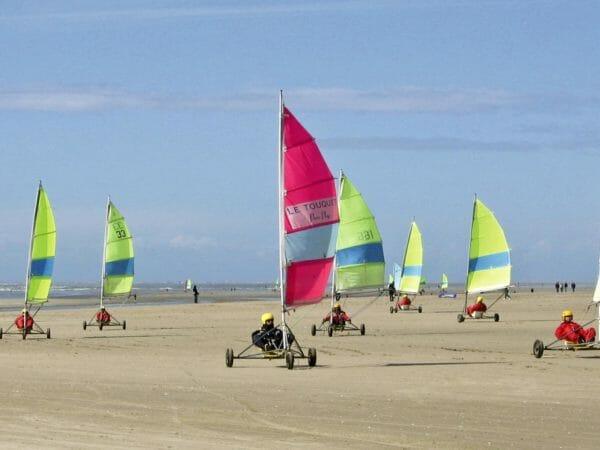 Flexi Sailing Char À Voiles