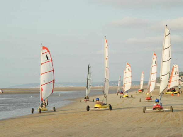 Flexi Sailing Sand Yacht Belgium 1